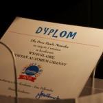 dyplom zwycięzcy